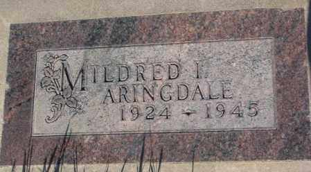 ARINGDALE, MILDRED I. - Tripp County, South Dakota | MILDRED I. ARINGDALE - South Dakota Gravestone Photos