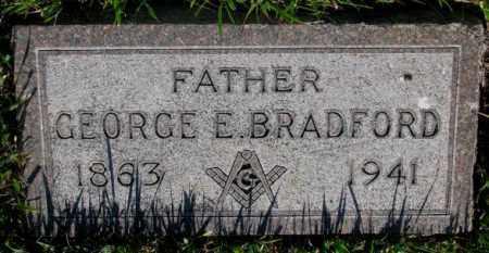 BRADFORD, GEORGE E. - Tripp County, South Dakota | GEORGE E. BRADFORD - South Dakota Gravestone Photos