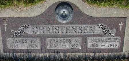 CHRISTENSEN, FRANCES N. - Tripp County, South Dakota | FRANCES N. CHRISTENSEN - South Dakota Gravestone Photos