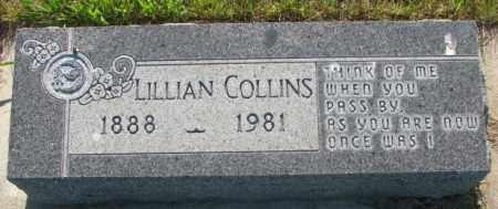 COLLINS, LILLIAN - Tripp County, South Dakota | LILLIAN COLLINS - South Dakota Gravestone Photos