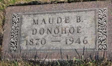 DONOHOE, MAUDE B. - Tripp County, South Dakota | MAUDE B. DONOHOE - South Dakota Gravestone Photos