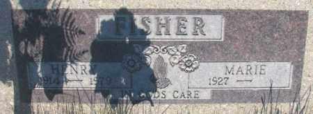 FISHER, HENRY - Tripp County, South Dakota | HENRY FISHER - South Dakota Gravestone Photos
