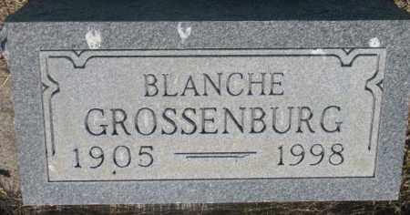 GROSSENBURG, BLANCHE - Tripp County, South Dakota | BLANCHE GROSSENBURG - South Dakota Gravestone Photos