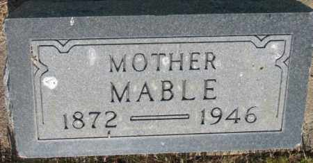 GROSSENBURG, MABLE - Tripp County, South Dakota | MABLE GROSSENBURG - South Dakota Gravestone Photos