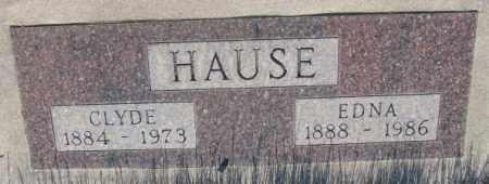 HAUSE, CLYDE - Tripp County, South Dakota | CLYDE HAUSE - South Dakota Gravestone Photos