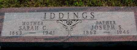 IDDINGS, JOSEPH S. - Tripp County, South Dakota | JOSEPH S. IDDINGS - South Dakota Gravestone Photos