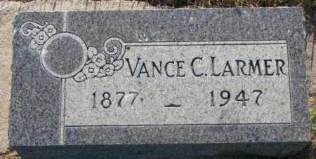 LARMER, VANCE C. - Tripp County, South Dakota | VANCE C. LARMER - South Dakota Gravestone Photos