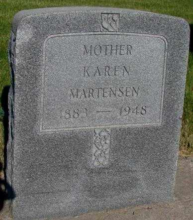MARTENSEN, KAREN - Tripp County, South Dakota | KAREN MARTENSEN - South Dakota Gravestone Photos