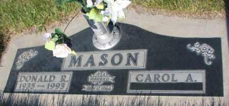 MASON, DONALD R. - Tripp County, South Dakota   DONALD R. MASON - South Dakota Gravestone Photos