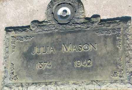 MASON, JULIA - Tripp County, South Dakota | JULIA MASON - South Dakota Gravestone Photos