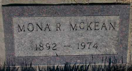 MCKEAN, MONA R. - Tripp County, South Dakota | MONA R. MCKEAN - South Dakota Gravestone Photos