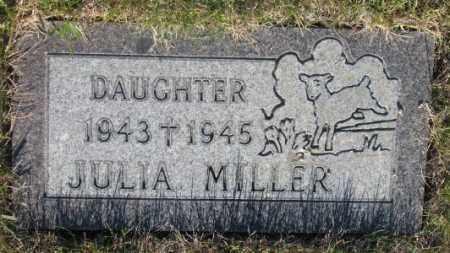 MILLER, JULIA - Tripp County, South Dakota | JULIA MILLER - South Dakota Gravestone Photos
