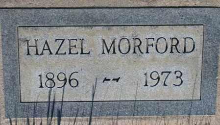 MORFORD, HAZEL - Tripp County, South Dakota | HAZEL MORFORD - South Dakota Gravestone Photos