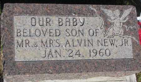 NEW, BABY - Tripp County, South Dakota | BABY NEW - South Dakota Gravestone Photos