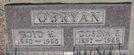 O'BRYAN, DOSHIA F. - Tripp County, South Dakota | DOSHIA F. O'BRYAN - South Dakota Gravestone Photos