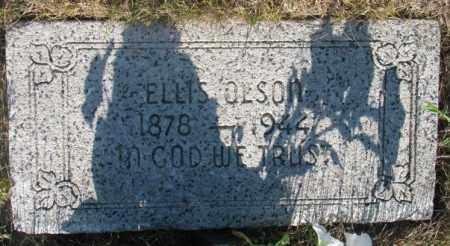 OLSON, ELLIS - Tripp County, South Dakota   ELLIS OLSON - South Dakota Gravestone Photos