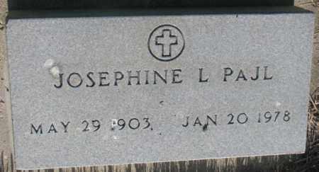 PAJL, JOSEPHINE L. - Tripp County, South Dakota | JOSEPHINE L. PAJL - South Dakota Gravestone Photos