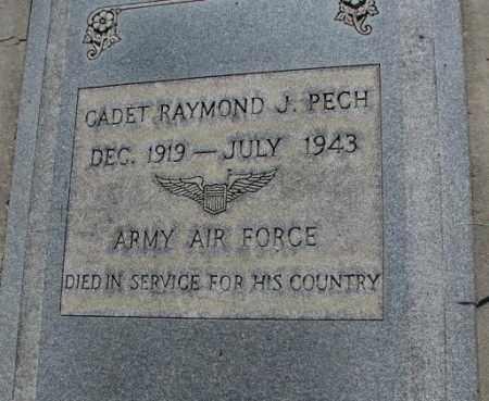 PECH, RAYMOND J. - Tripp County, South Dakota | RAYMOND J. PECH - South Dakota Gravestone Photos