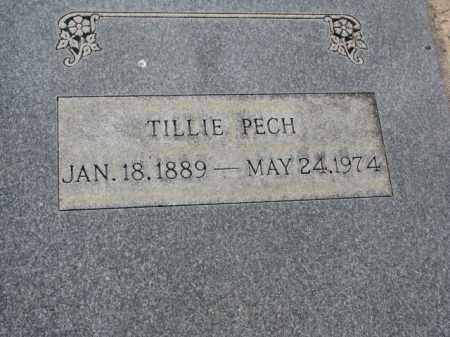 PECH, TILLIE - Tripp County, South Dakota | TILLIE PECH - South Dakota Gravestone Photos