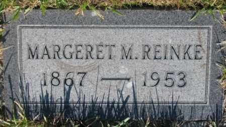 REINKE, MARGARET M. - Tripp County, South Dakota | MARGARET M. REINKE - South Dakota Gravestone Photos