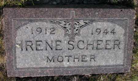 SCHEER, IRENE - Tripp County, South Dakota | IRENE SCHEER - South Dakota Gravestone Photos