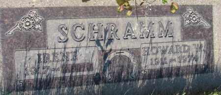 SCHRAMM, HOWARD W. - Tripp County, South Dakota | HOWARD W. SCHRAMM - South Dakota Gravestone Photos