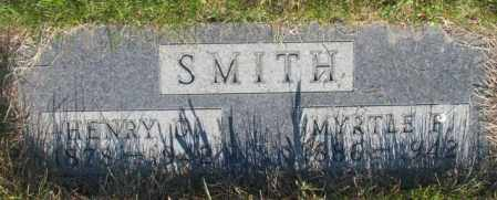 SMITH, MYRTLE F. - Tripp County, South Dakota | MYRTLE F. SMITH - South Dakota Gravestone Photos