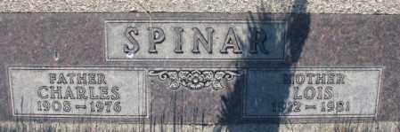SPINAR, LOIS - Tripp County, South Dakota | LOIS SPINAR - South Dakota Gravestone Photos