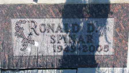 SPINAR, RONALD D. - Tripp County, South Dakota | RONALD D. SPINAR - South Dakota Gravestone Photos