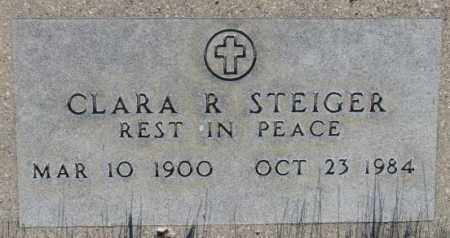 STEIGER, CLARA R. - Tripp County, South Dakota   CLARA R. STEIGER - South Dakota Gravestone Photos