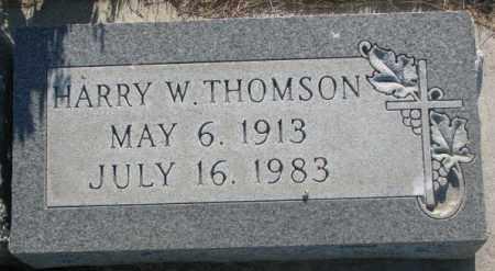 THOMSON, HARRY W. - Tripp County, South Dakota | HARRY W. THOMSON - South Dakota Gravestone Photos
