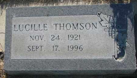 THOMSON, LUCILLE - Tripp County, South Dakota   LUCILLE THOMSON - South Dakota Gravestone Photos