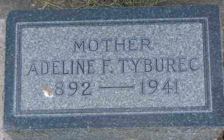 TYBUREC, ADELINE F. - Tripp County, South Dakota | ADELINE F. TYBUREC - South Dakota Gravestone Photos