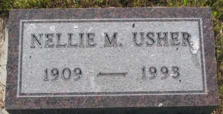 USHER, NELLIE M. - Tripp County, South Dakota | NELLIE M. USHER - South Dakota Gravestone Photos