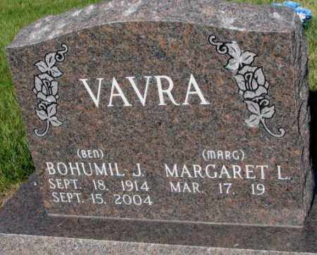 "VAVRA, BOHUMIL J. ""BEN"" - Tripp County, South Dakota 
