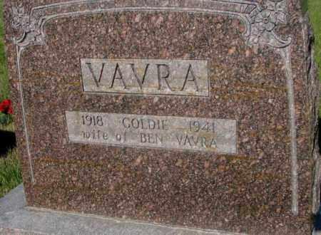 VAVRA, GOLDIE - Tripp County, South Dakota | GOLDIE VAVRA - South Dakota Gravestone Photos