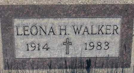 WALKER, LEONA H. - Tripp County, South Dakota | LEONA H. WALKER - South Dakota Gravestone Photos