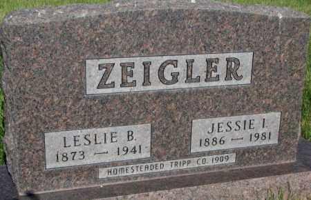 ZEIGLER, JESSIE I. - Tripp County, South Dakota | JESSIE I. ZEIGLER - South Dakota Gravestone Photos