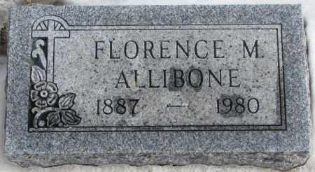 ALLIBONE, FLORENCE M. - Turner County, South Dakota | FLORENCE M. ALLIBONE - South Dakota Gravestone Photos