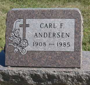 ANDERSEN, CARL F. - Turner County, South Dakota | CARL F. ANDERSEN - South Dakota Gravestone Photos