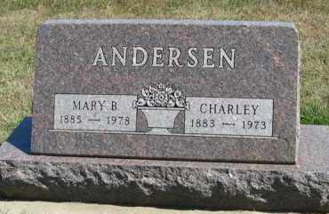 ANDERSEN, CHARLEY - Turner County, South Dakota | CHARLEY ANDERSEN - South Dakota Gravestone Photos