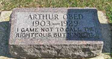 BRODLAND, ARTHUR OBED - Turner County, South Dakota | ARTHUR OBED BRODLAND - South Dakota Gravestone Photos