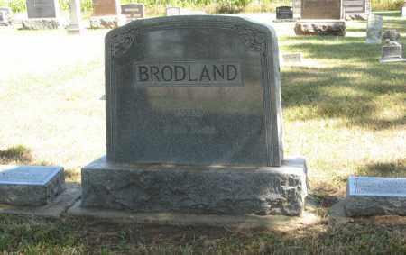 BRODLAND, FAMILY - Turner County, South Dakota | FAMILY BRODLAND - South Dakota Gravestone Photos