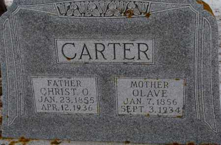 CARTER, CHRIST O. - Turner County, South Dakota   CHRIST O. CARTER - South Dakota Gravestone Photos