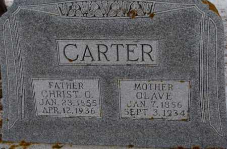 CARTER, OLAVE - Turner County, South Dakota | OLAVE CARTER - South Dakota Gravestone Photos