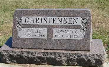 CHRISTENSEN, EDWARD C. - Turner County, South Dakota | EDWARD C. CHRISTENSEN - South Dakota Gravestone Photos