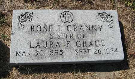 CRANNY, ROSE L. - Turner County, South Dakota | ROSE L. CRANNY - South Dakota Gravestone Photos