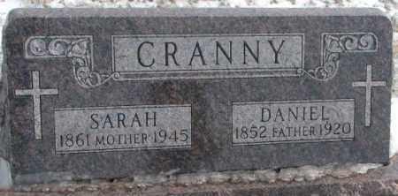 CRANNY, SARAH - Turner County, South Dakota | SARAH CRANNY - South Dakota Gravestone Photos