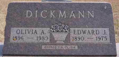 DICKMANN, EDWARD J - Turner County, South Dakota | EDWARD J DICKMANN - South Dakota Gravestone Photos
