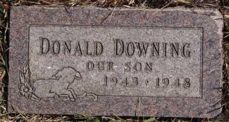 DOWNING, DONALD - Turner County, South Dakota | DONALD DOWNING - South Dakota Gravestone Photos